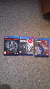 3 games for 25$!!
