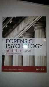 Forensic Psychology and the law a canadian perspective