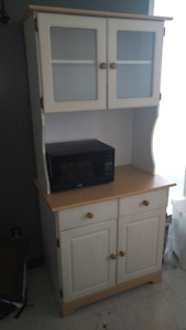 Kitchen Cabinet (Microwave not for sale)
