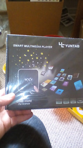 Tv android box smart tv new in box