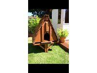 Solid wood chicken coop