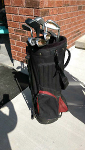 Golf Clubs, Bag and Cary