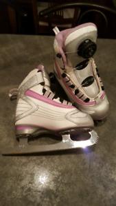 Reebok girls size 12 skates
