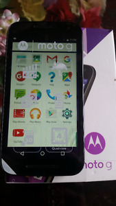 Motorola 3rd Gen Unlocked Mint Condition Boxed 13MP Camera