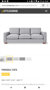 Gus modern parkdale sofa & $1000 store credit to stylegarage
