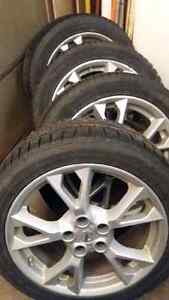 245/45/R18  Tires and rims