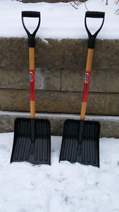 Small snow shovels-2 for $10