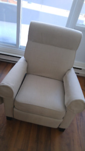 Fauteuil ikea inclinable.7 mois d'usure