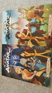 Avatar comic book. The search part 1 and 2