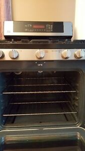 LG stainless steel Gas range Cambridge Kitchener Area image 4
