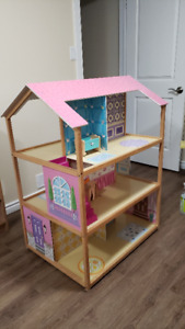 Large Doll House - 3 Story Double Sided