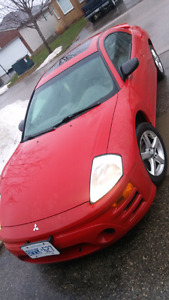 2003 Mitsubishi eclipse SOHC Manual coupe