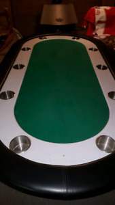8 player poker table for sale