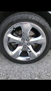 255/40/20 tires and rims brand new tires