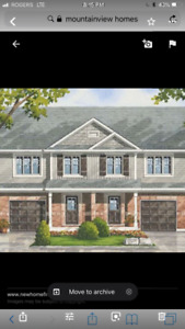 Brand new two storey townhouse for rent by crystal beach area