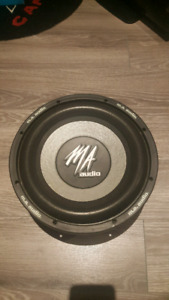 12 inch MA audio subwoofer