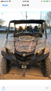 For immediate sale 2014 Yamaha Viking side by side