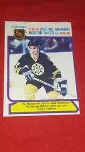 Ray bourque hockey card