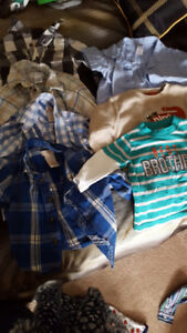 3-6 &6 month boy clothes
