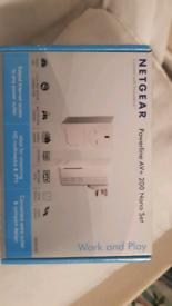 Netgear power line AV+200nanoset