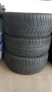 Winter tires great condition 215 and 225