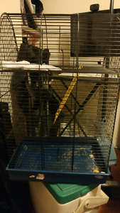 Cage with food