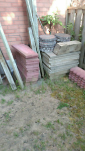 Outdoor tiles and slabs