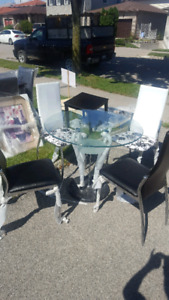 Brand new dining set $180,  table with 4 chairs