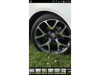 "VXR 20"" alloy wheels with brand new tyres"