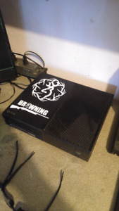 Xbox 1 .500 gb with 14 games