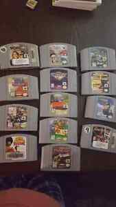 Nintendo 64 and ds / 3ds games for sale