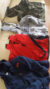 Boy's hoodies and sweater size 4T