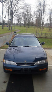1996 Honda Accord Sedan -- good for winter use