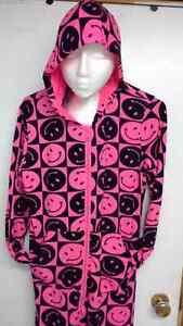 2 adult onesie pajamas size medium