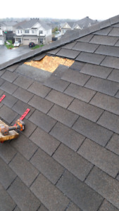 Roofing repairs starting at $150 and free estimates on re-roofs