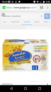 Looking to trade formula similac ready to feeds