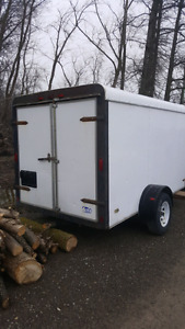 **Sold PPU** 1999 Pace 6x10 Enclosed trailer