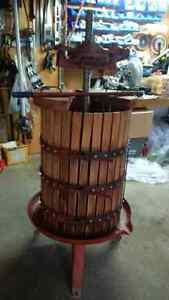 Wine Grape Press