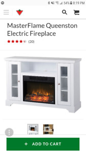 Electric Fireplace - Like new
