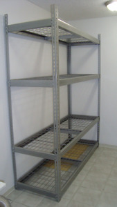 Shelves- steel - extra HD - new condition - $175