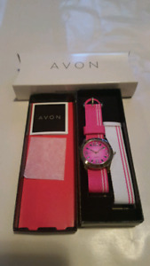 NEW Avon watch - 2 bands for wrist