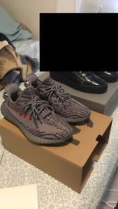 AUTHENTIC Size 9.5 Yeezy Beluga 2.0 with receipt.