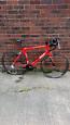 B/twin triban 3 54cm alloy frame/carbon forks 24speed v/clean bike