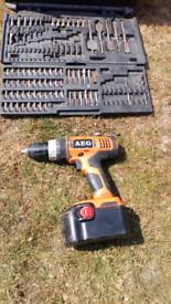 AEG cordless drill