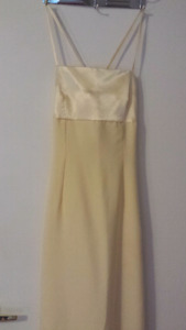 Butter yellow dress