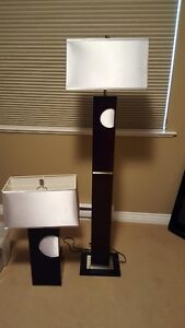 HIGH QUALITY MODERN TABLE AND FLOOR LAMP FOR SALE