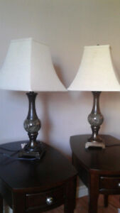 Two Table Lamps for Sale