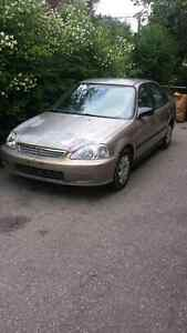 2000 honda civic se for sale as is