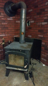Wood stove plus accessories