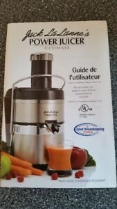 Extracteur a jus Jack Lalanne (Ultimate Power )
